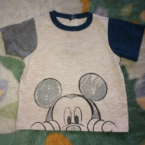 Mickey Mouse T Shirt & Shorts